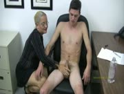 Discipline The Young Man From Older MILF Lady